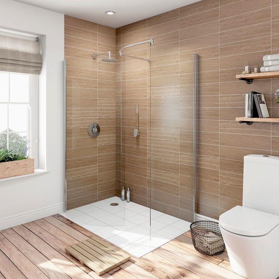 6mm curved walk in shower enclosure 1400 x 900 | Bathroom | Pinterest