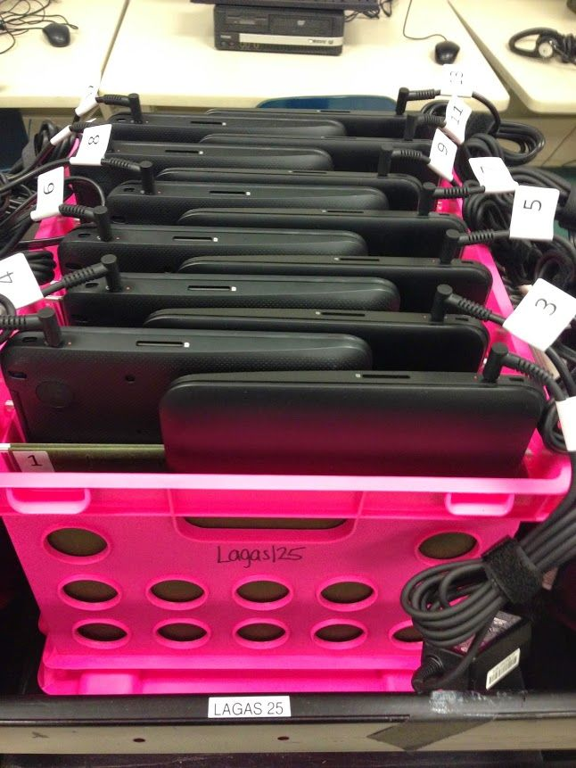 Chromebook Crate Carts   Technology in the classroom   Classroom