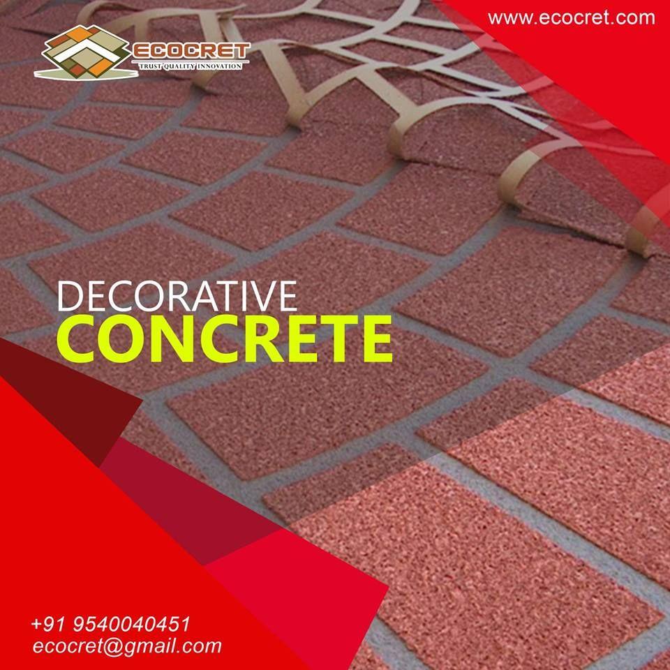 Products Services Decorative Concrete Decorative Concrete