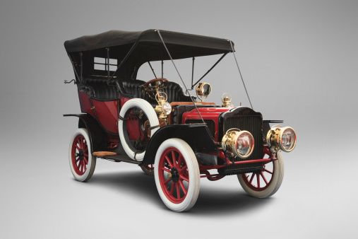 1908 White Model L Touring Steam Car.