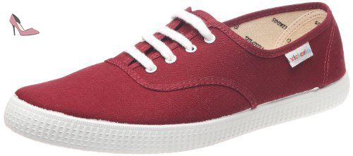 Inglesa Lona, Baskets mode mixte adulte Rose (Fuscia) 40 EUVictoria