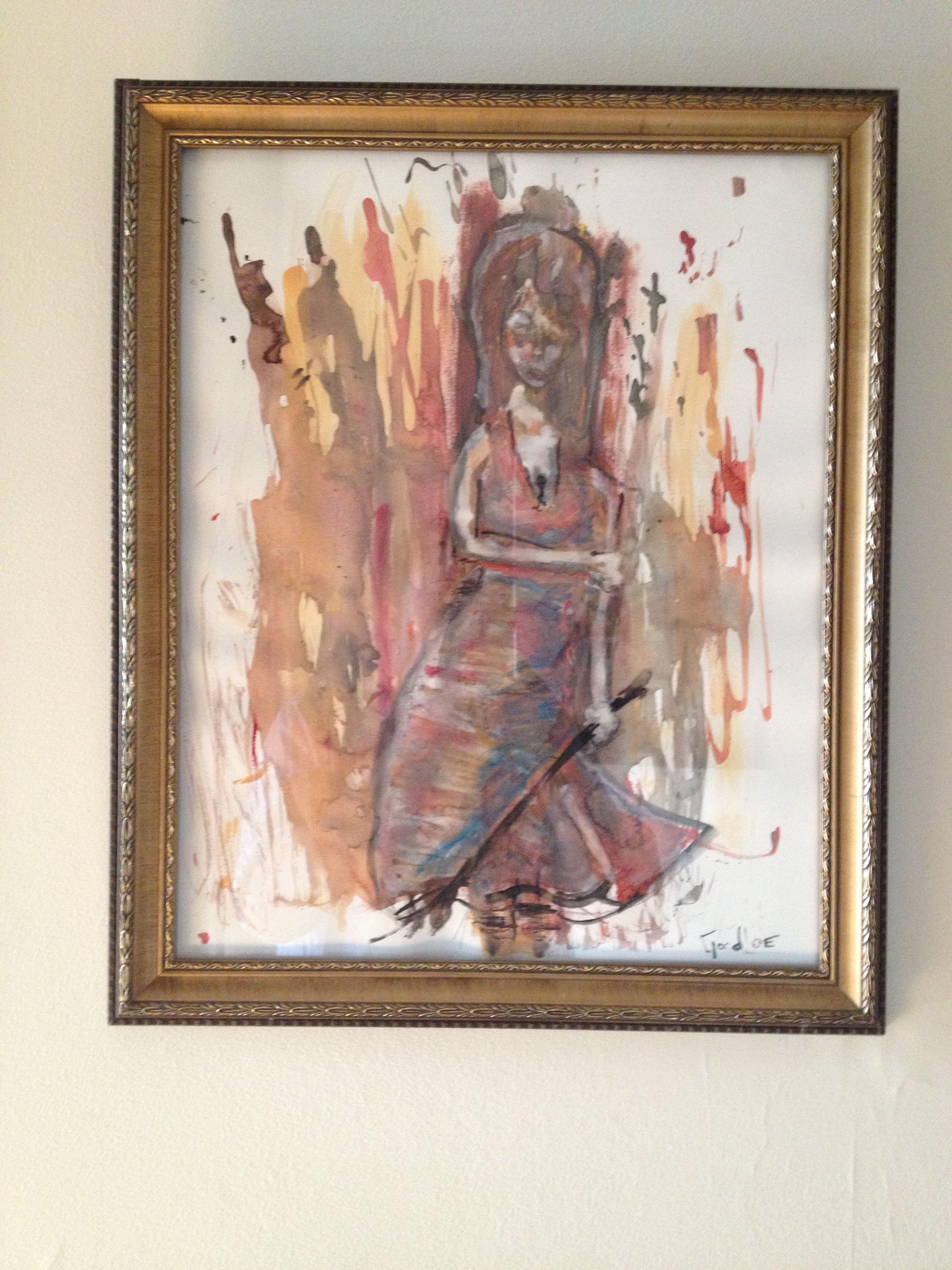 Gouache Experiment Gouache Art Painting