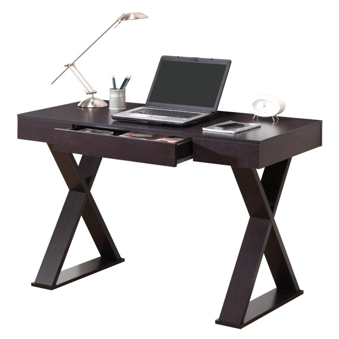 Techni Mobili Trendy Desk With Drawer In 2019