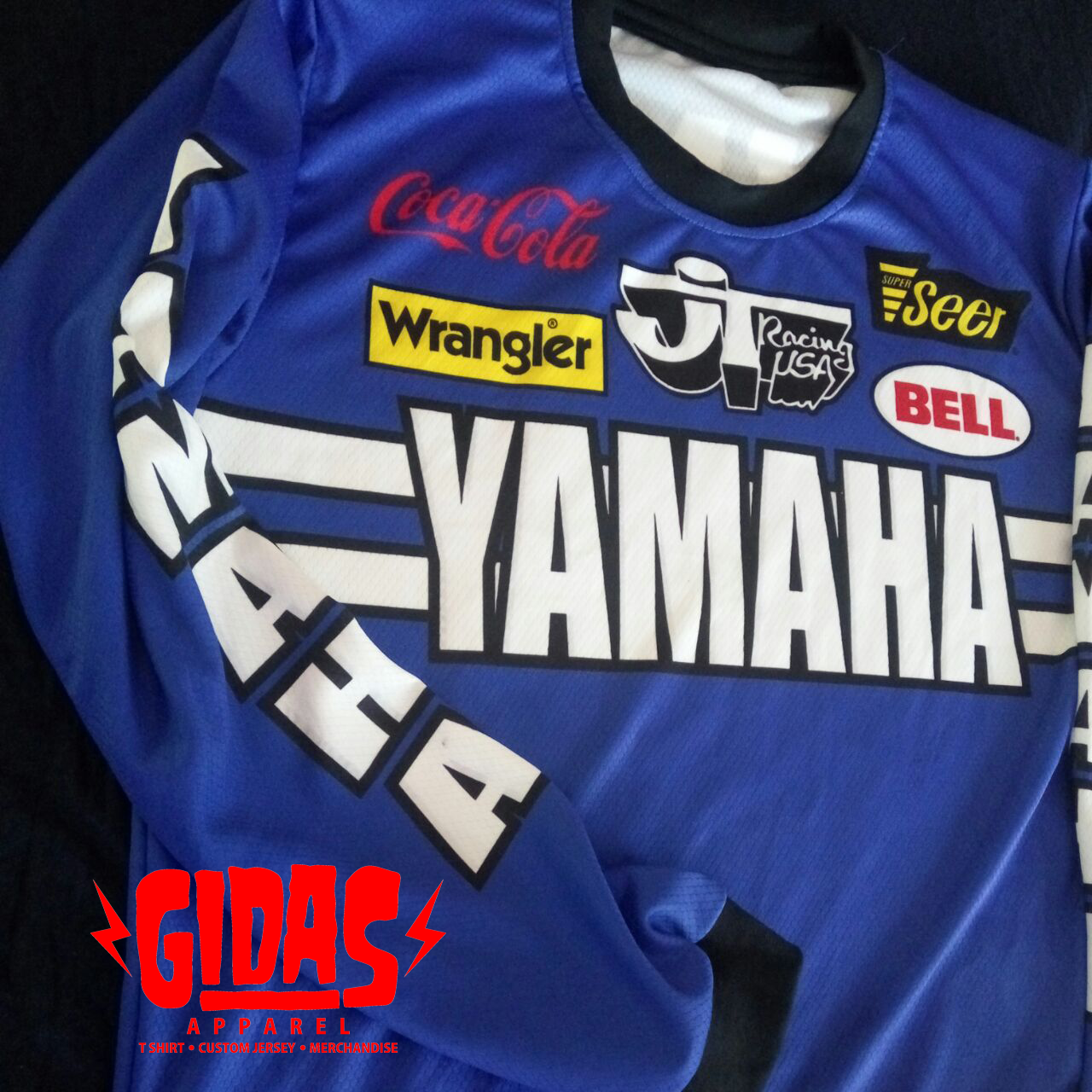 Gidas Apparel Custom Jersey Vintage Motocross Jersey Whatsapp 082137240629 Email Gidasapp Gmail Com Vintage Mx J Vintage Motocross Motocross Custom Jerseys