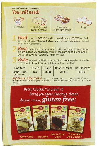 recipe: betty crocker gluten free yellow cake mix recipes [25]