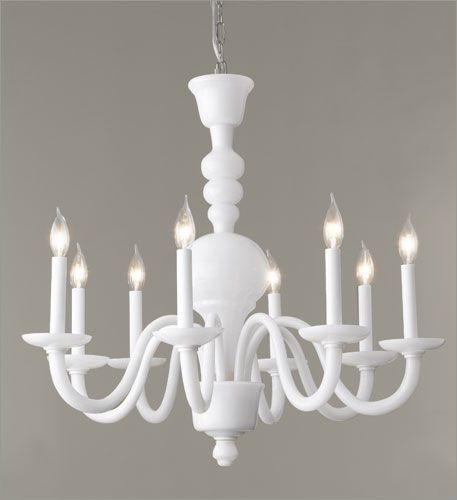 Martha Lighting Veneto Eight Light Chandelier In Milk Gl At Www Lightingfun