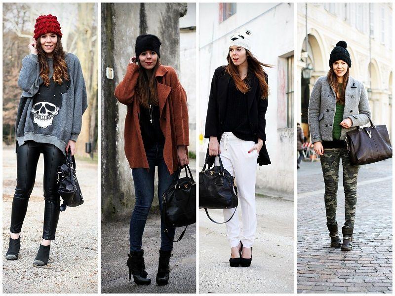 Beanie trend   #beanie #hat #casual #streetstyle #outfit #look #fashionblogger #irenecolzi #irenescloset   www.ireneccloset.com