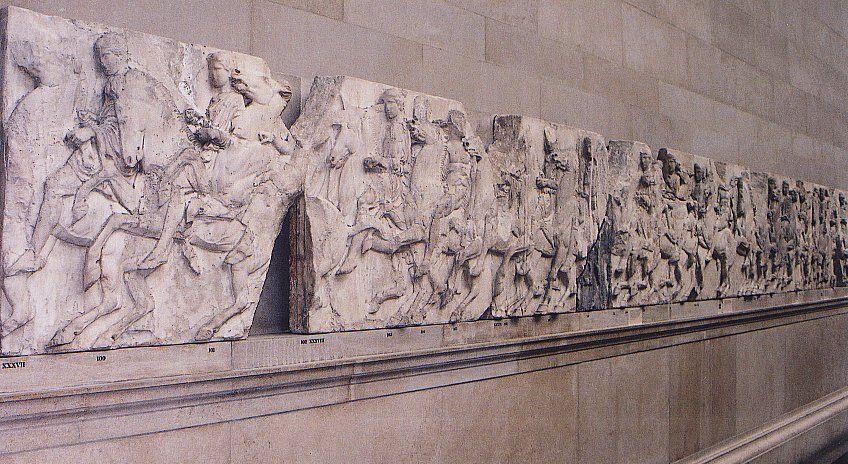 parthenon frieze ancient greece pinterest parthenon