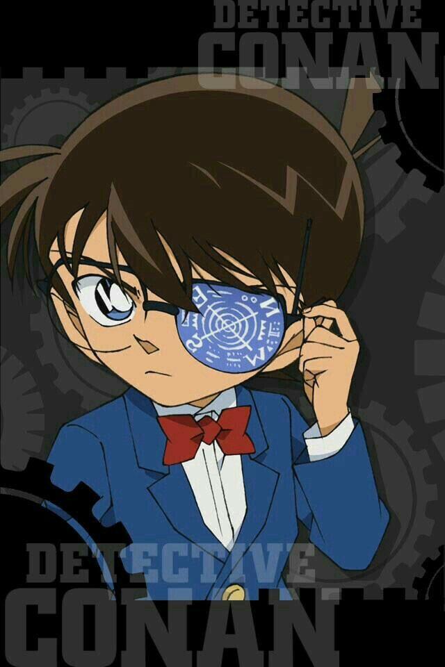 Detektiv Conan Anime Kunst Tapete Kriminalbeamter Manga Fall Abgeschlossen Marvel Jungs