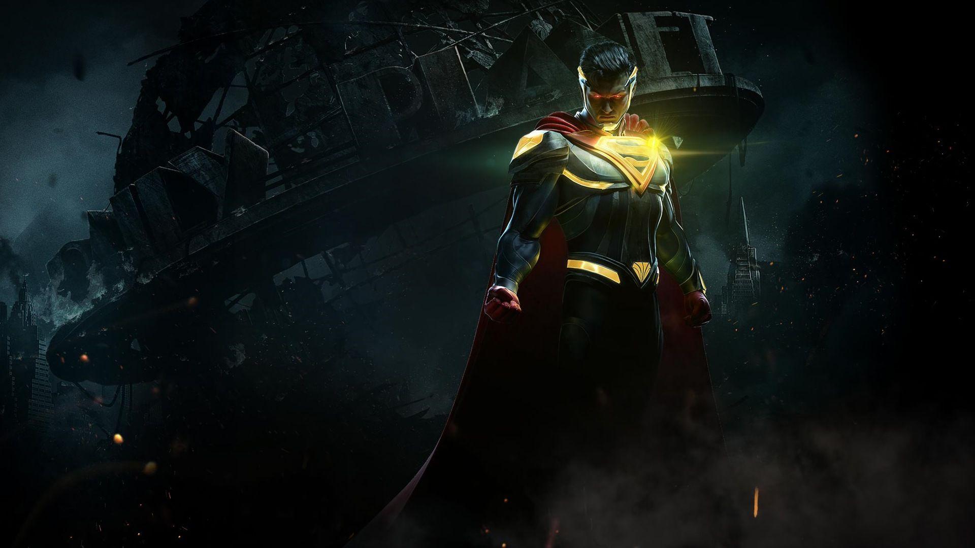 Injustice 2 Superman Hd Games 4k Wallpapers Images: Superman Injustice 2 1920x1080