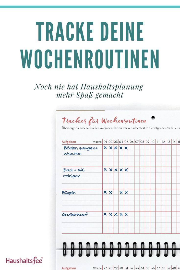 Mit Diesem Planer Kannst Du Deine Wochenroutinen Tracken Familienplaner Woche Routinen Kalender Haushalt Haushaltsfee Weekview Hausarbeit Planen Plan En 2020