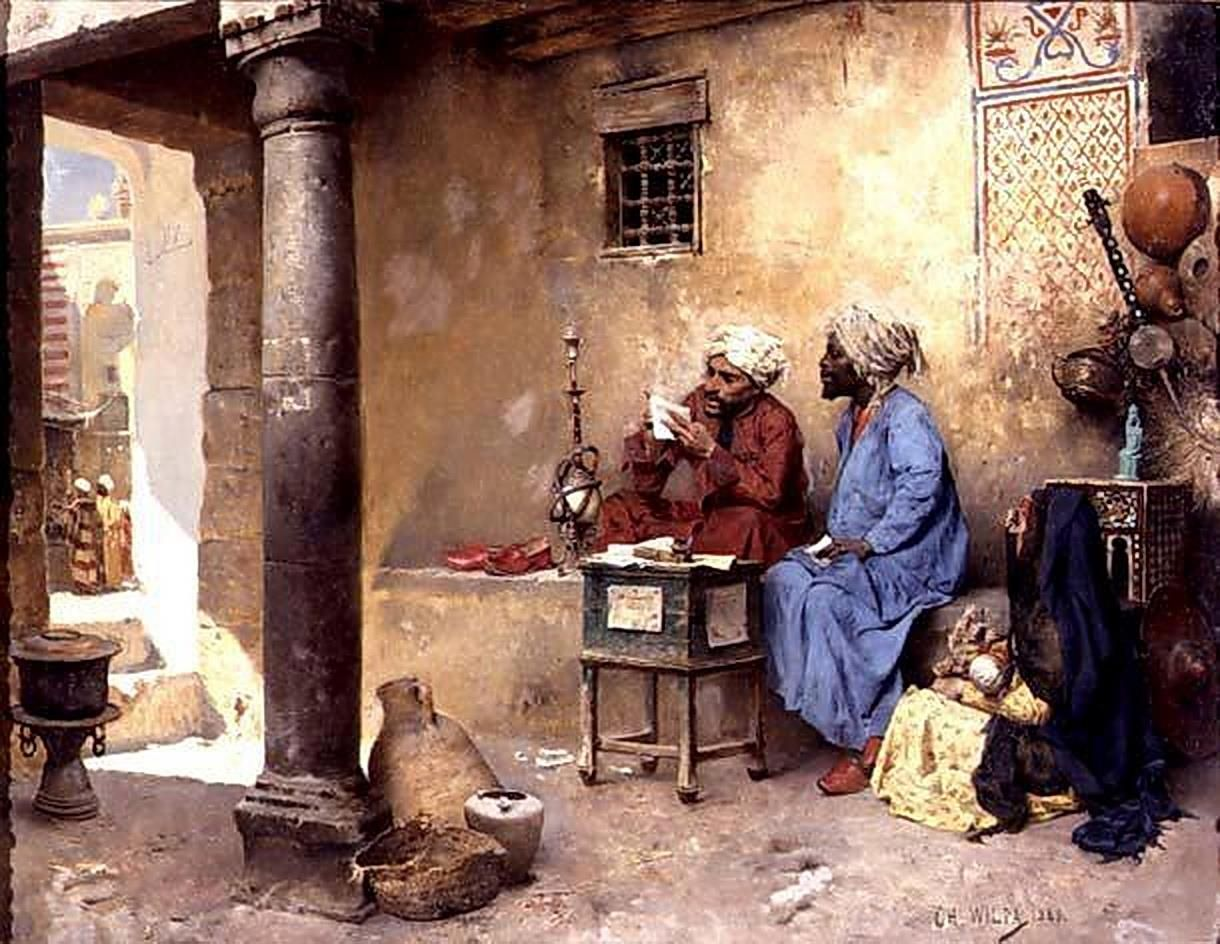 The Scribe 1886 By Charles Wilda Austrian 1854 1907 Oil On Canva Resim Sanati Sanat Tablolar