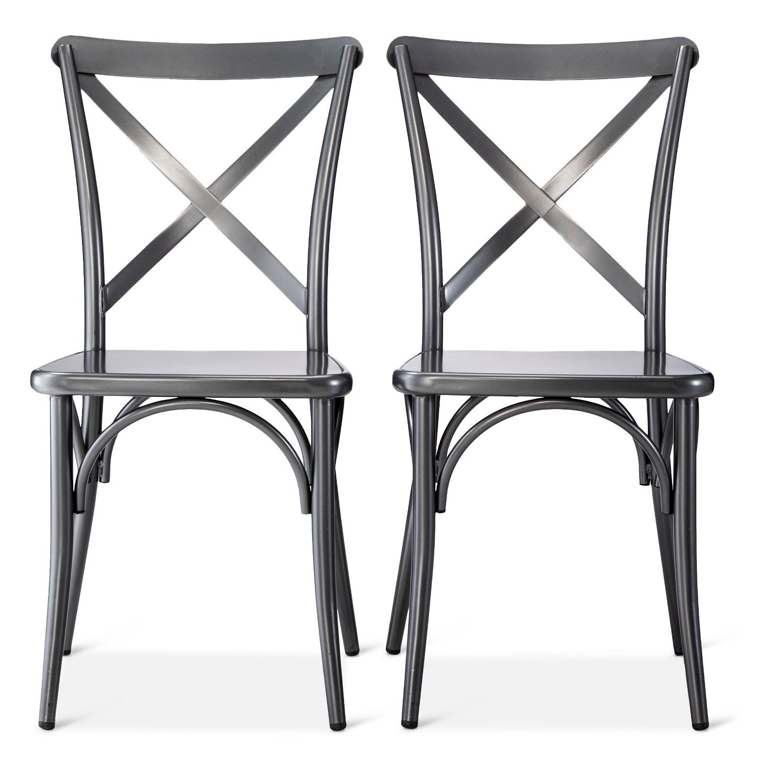 French kitchen table  French Metal Bistro Chair Set of   The Industrial Shop  Cypress