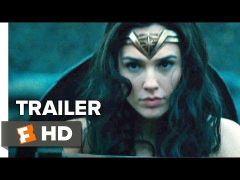Watch The First Wonder Woman Trailer Gal Gadot Movies Best Superhero Movies Wonder Woman Comic