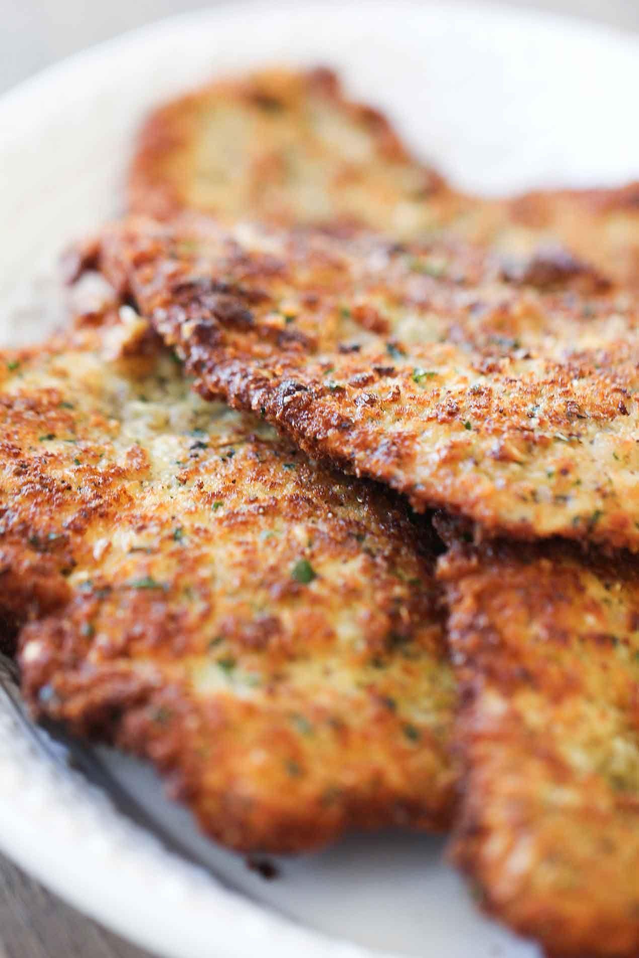 Authentic Chicken Parmigiana #chickenparmesan
