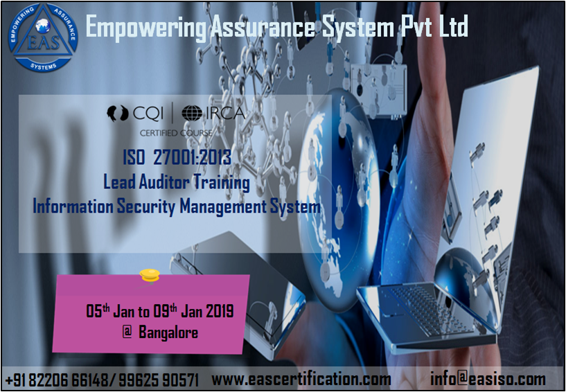 Pin by Empowering Assurance Systems Pvt  Ltd  on ISO Lead