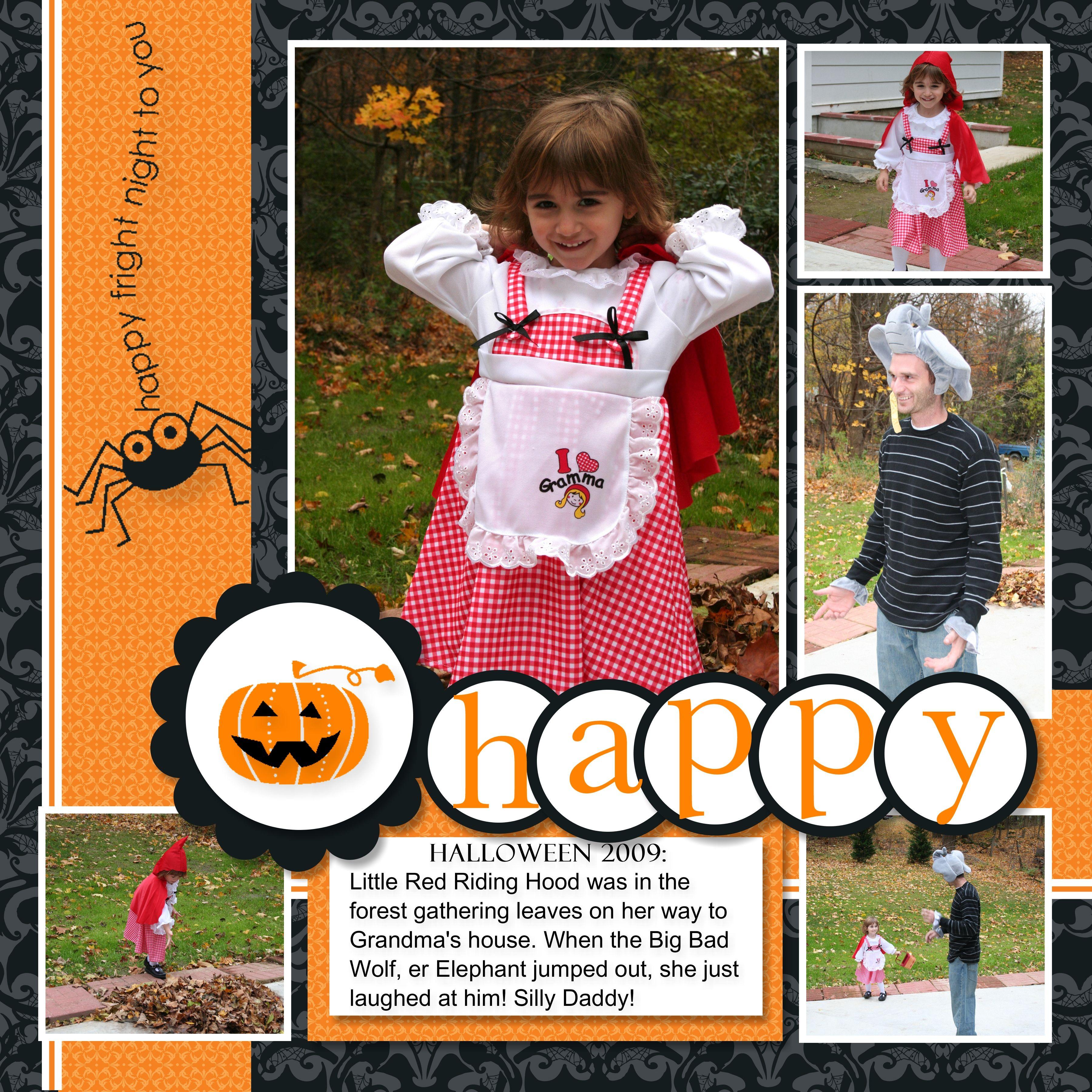 halloween scrapbook layouts   ... My Digital Studio Halloween ...