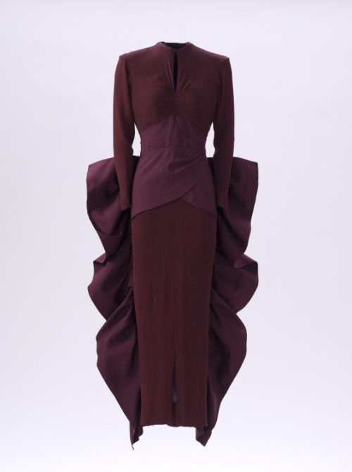 Evening Dress Gilbert Adrian, 1948 The Los Angeles County Museum of Art