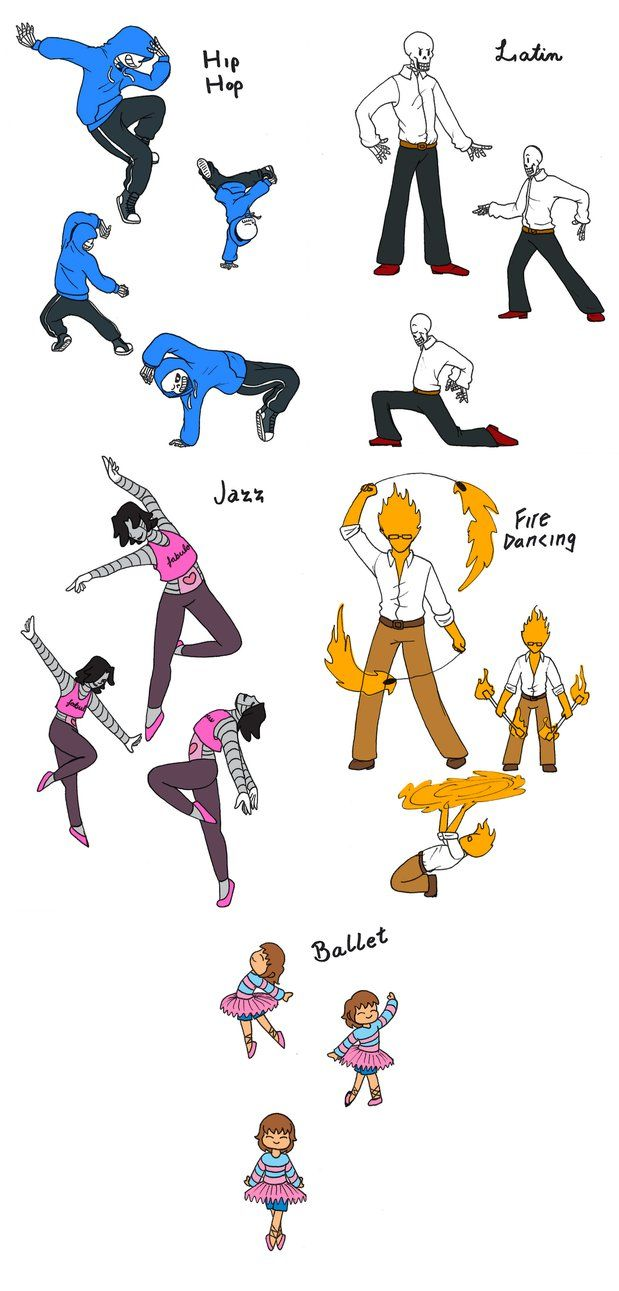 Dancetale by KrystellaLyle on DeviantArt LOL id love to see Sans and Papyrus dance XD