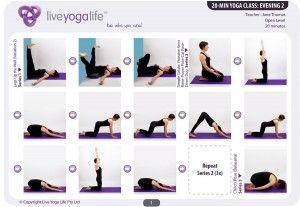 20minute yoga evening  class 2 restorative  20