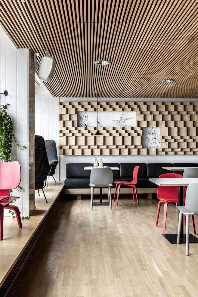 faux plafond en claustra de bois plafond pinterest. Black Bedroom Furniture Sets. Home Design Ideas