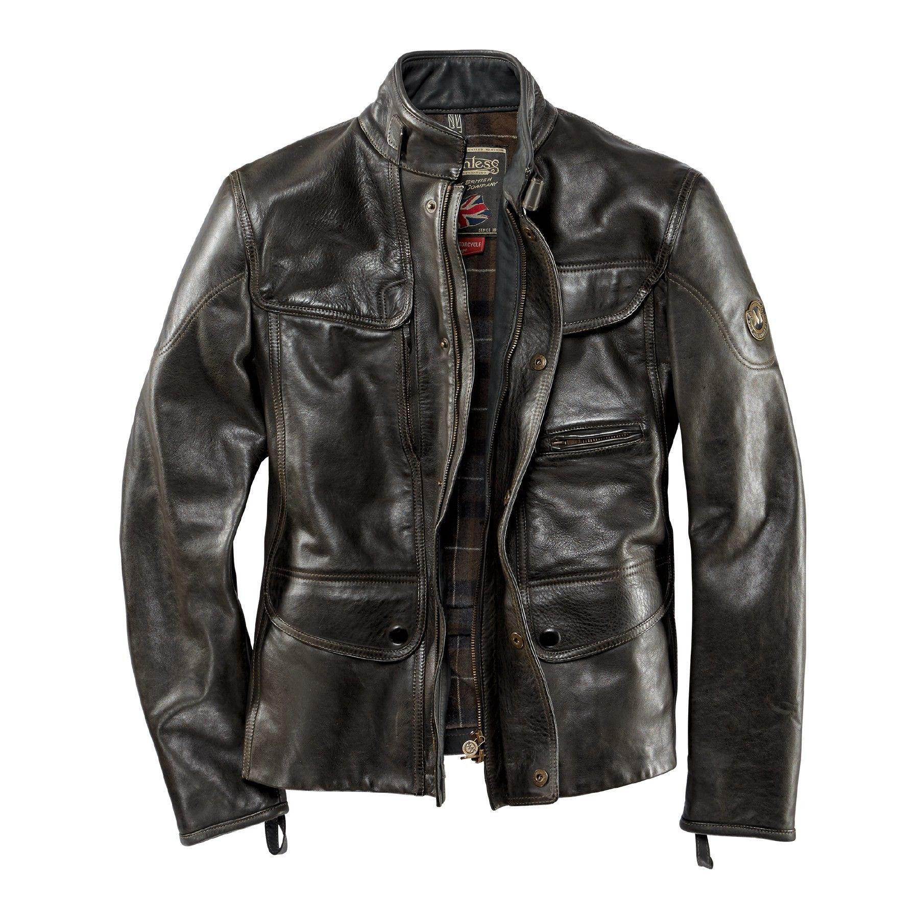 matchless lederjacke kensington jacket lederjacken in. Black Bedroom Furniture Sets. Home Design Ideas