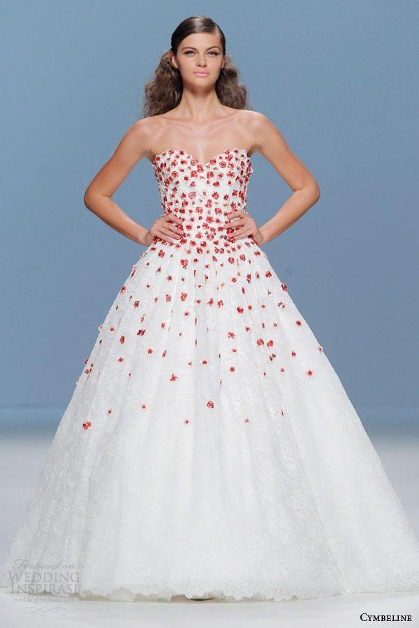 Cymbeline Bridal 2015 Colored Wedding Dresses Wedding Inspirasi Wedding Dress Trends Colored Wedding Dresses Ball Gown Wedding Dress