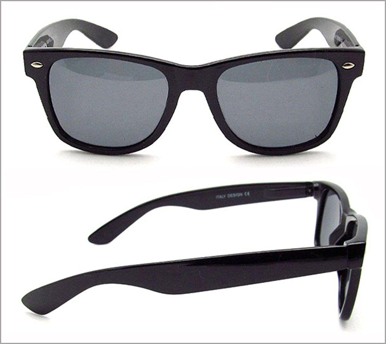8747bc3f0f4 Wayfarer style Polarized Sunglasses. Free Microfiber Cleaning Case  Included. - Tortoise Shell Brown - CG11BZ69DDF-Men s Sunglasses