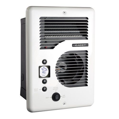Cadet Cec163tw 65201 Energy Plus Electric Wall Heater White
