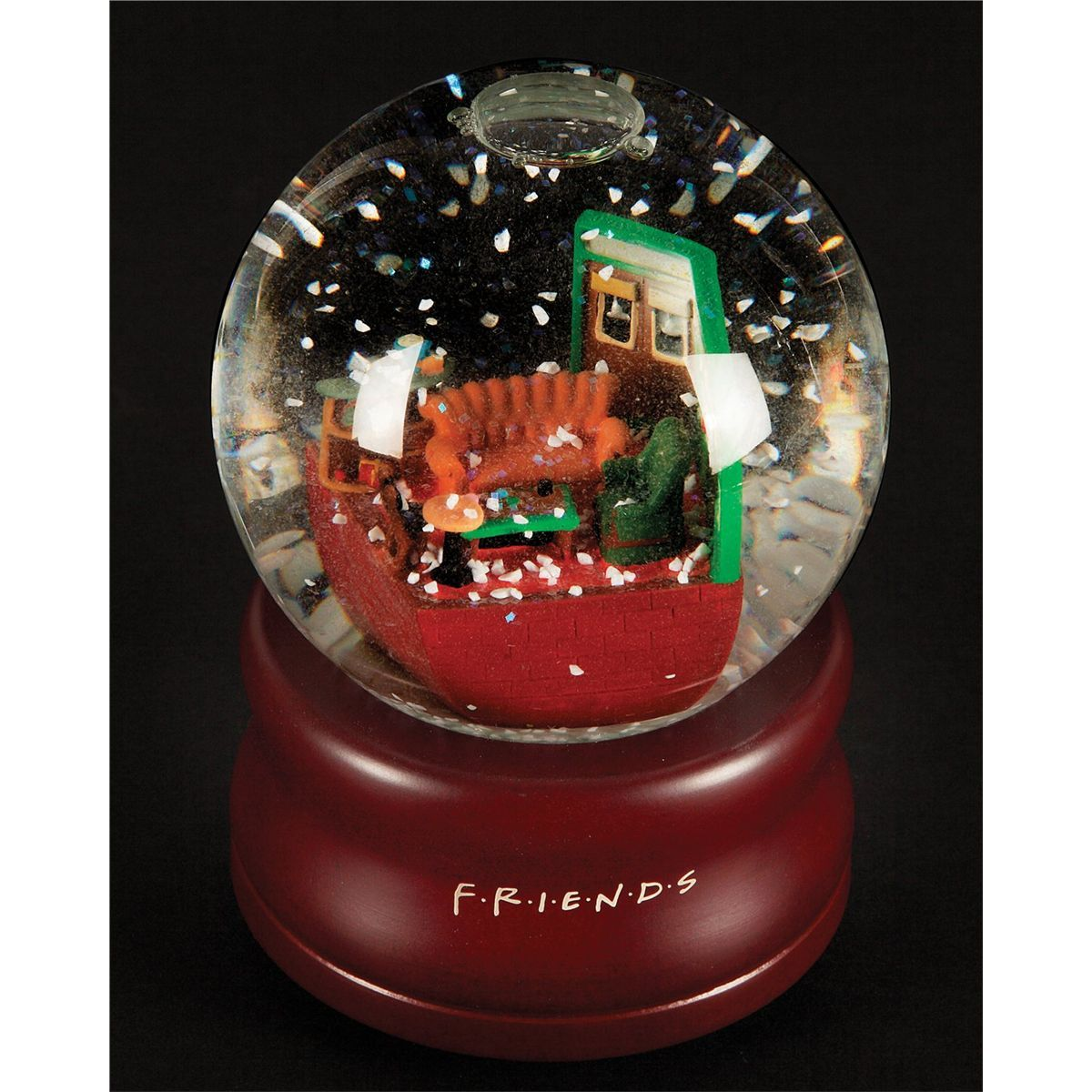 Will It Snow For Christmas Cast.Snow Globe Cast Only Christmas Gift From Friends Nbc Tv