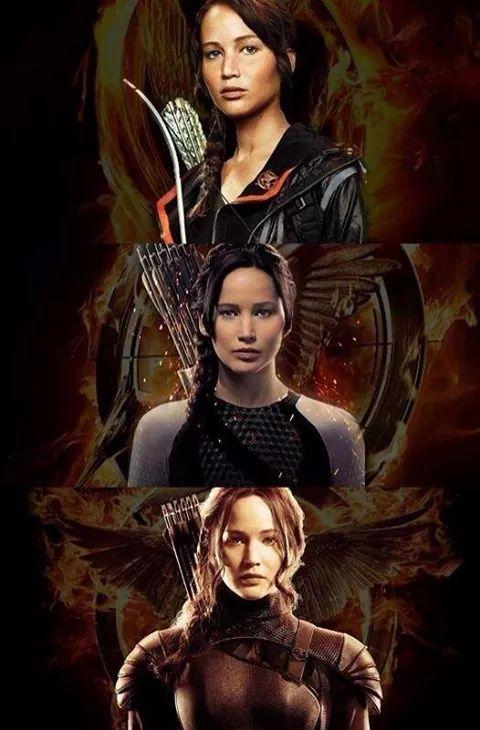 Imagenes De Katniss En Las Tre Peliculas De Los Juegos Del Hambre Juegos Del Hambre Los Juegos Del Hambre Trilogia De Juegos Del Hambre
