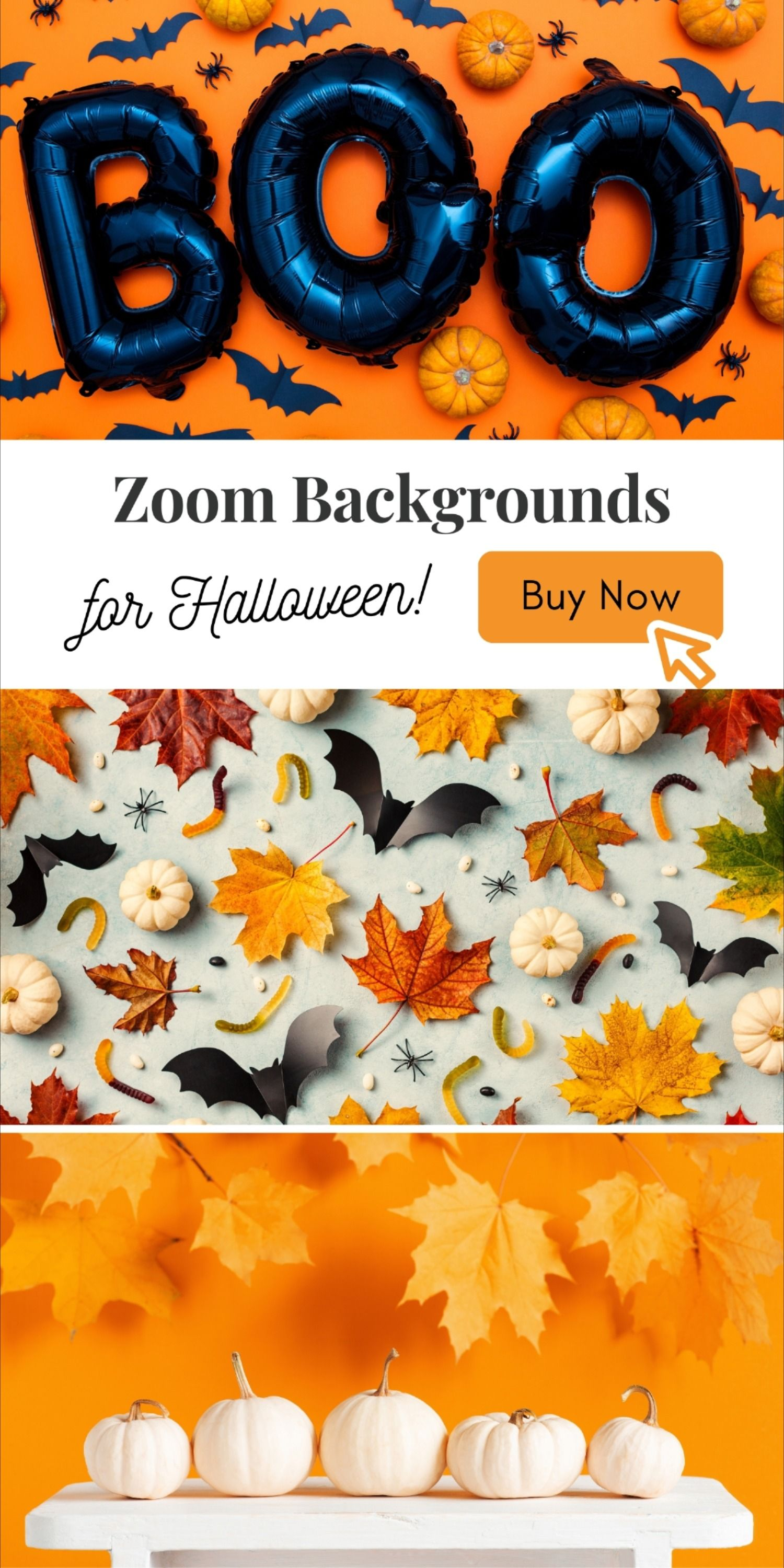 Zoom Backgrounds For Halloween Fall Autumn In 2020 Background Halloween Luxury Background