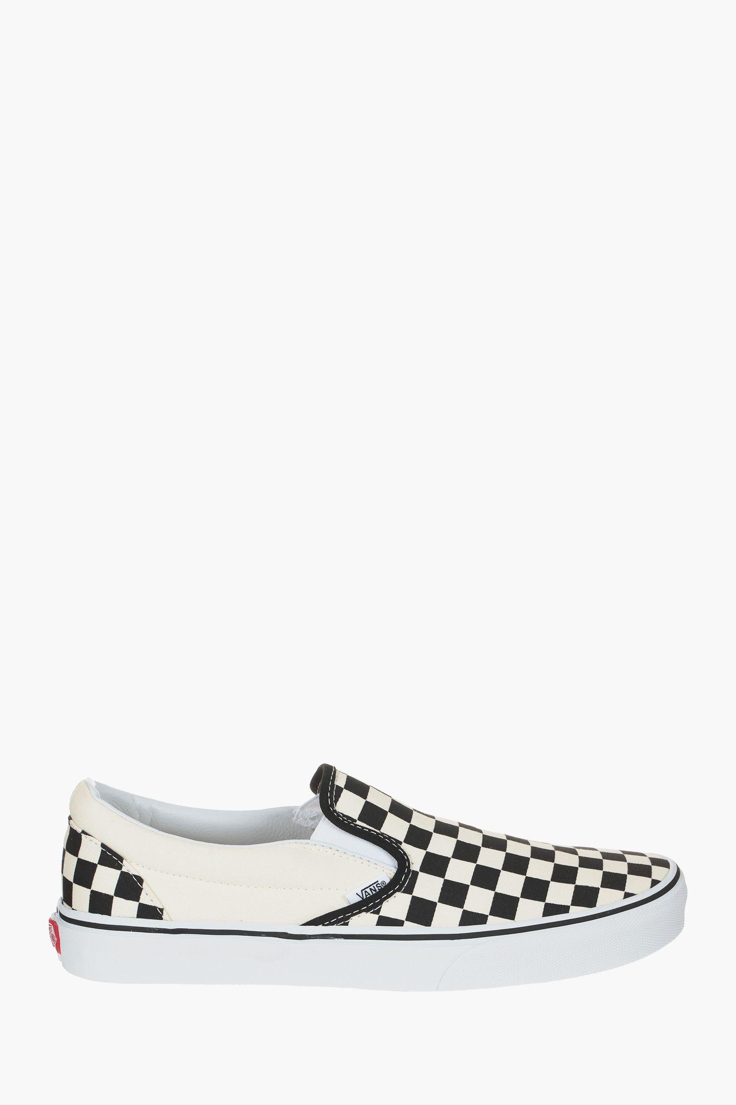 Slip-on imprimées damier Viane zoom | Chaussures en ligne ...