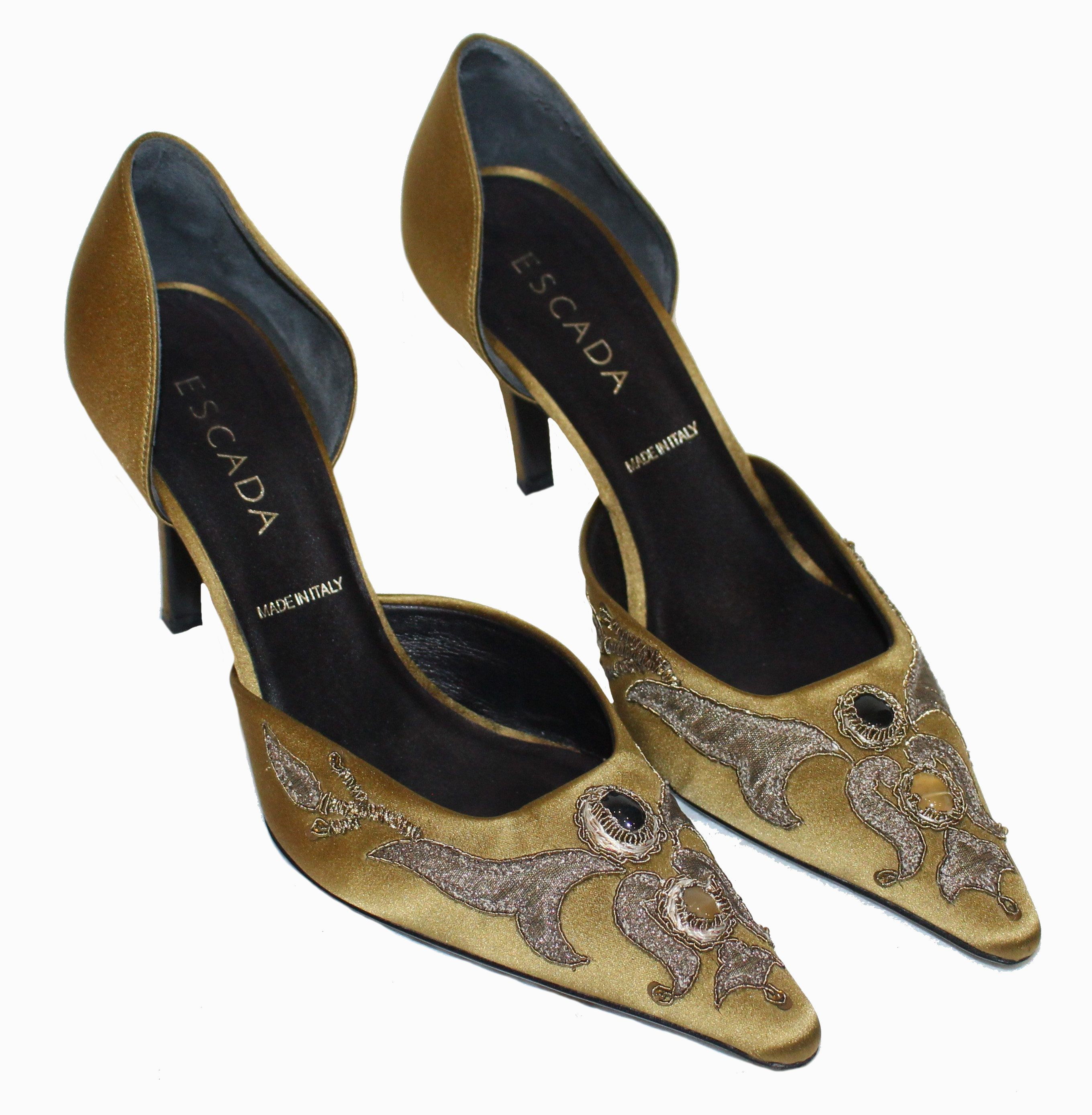 ESCADA Pumps Rokoko Gr. 38,5 | Schuhe | Schuhe