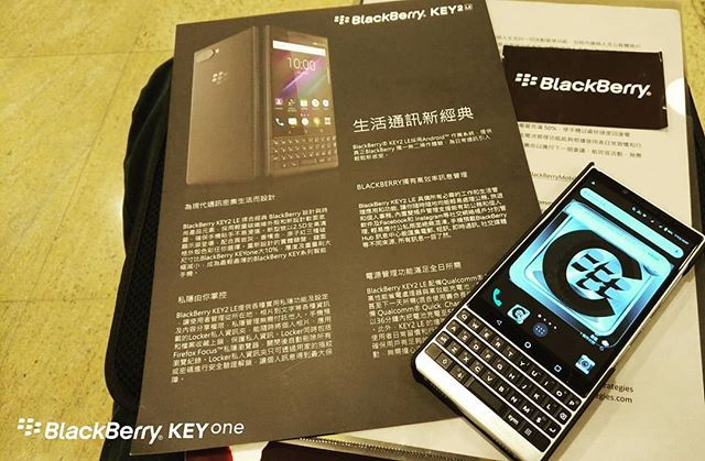 BlackBerryKEY2 HK event Which #BlackBerry do you have?#KEY2 #KEYone