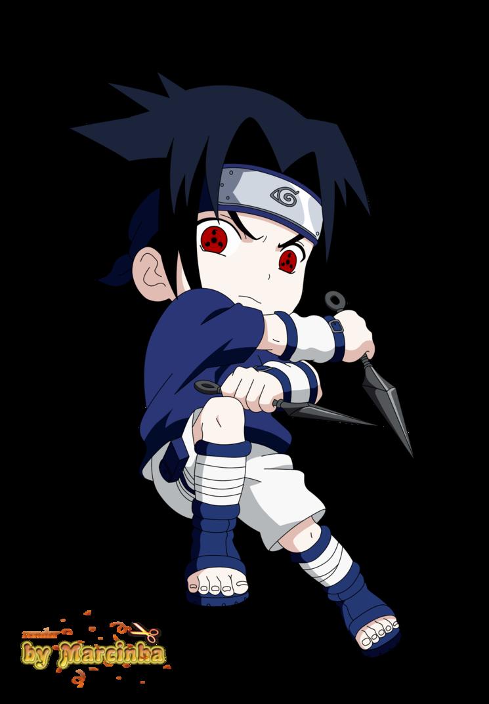 Chibi Sasuke By Marcinha20 Sasuke Chibi Anime Chibi Sasuke Sharingan