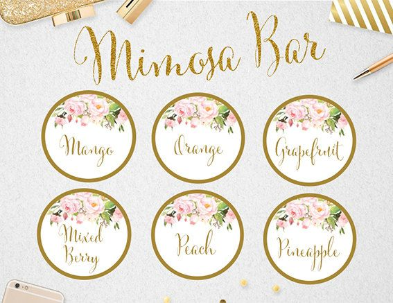 It's just a photo of Mimosa Bar Sign Printable Free inside holiday bar