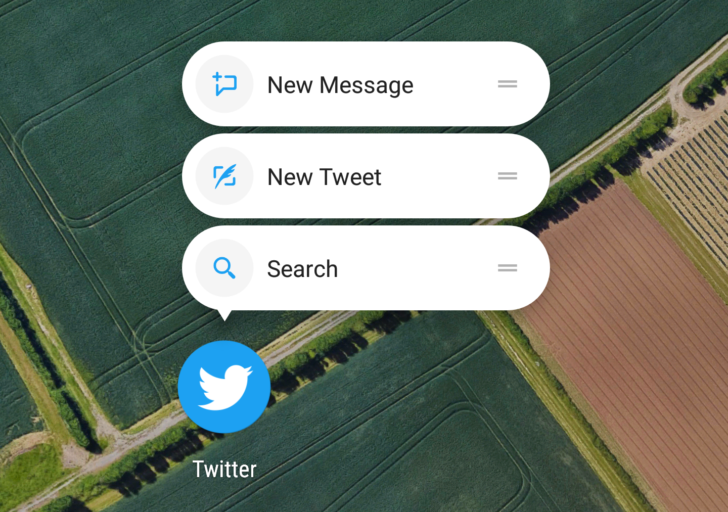 Twitter's latest alpha brings support for app shortcuts Nougat multi-window and a round icon [APK Download] http://ift.tt/2fhxYAR