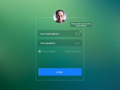 13 best ideas about UI | login page on Pinterest | Behance, Logos ...