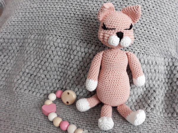 Photo of Cat Rosie, kostenlose Häkelanleitung