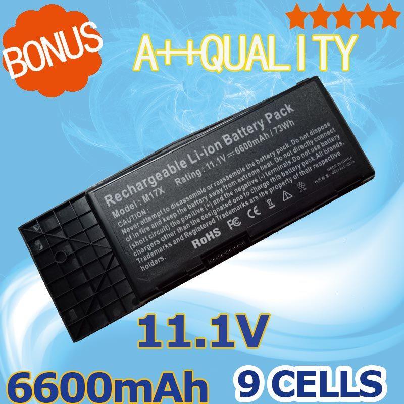 11 1v 6600mah Laptop Battery For Dell Btyvoy1 7xc9n C0c5m For
