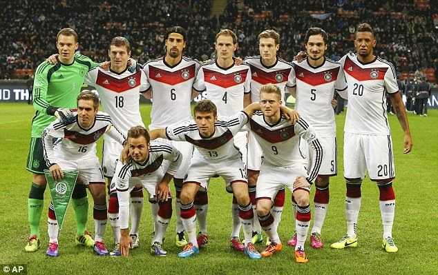 Flagwigs Germany Squad Road To Brazil World Cup Have A Fu Germany National Football Team National Football Teams World Cup Teams