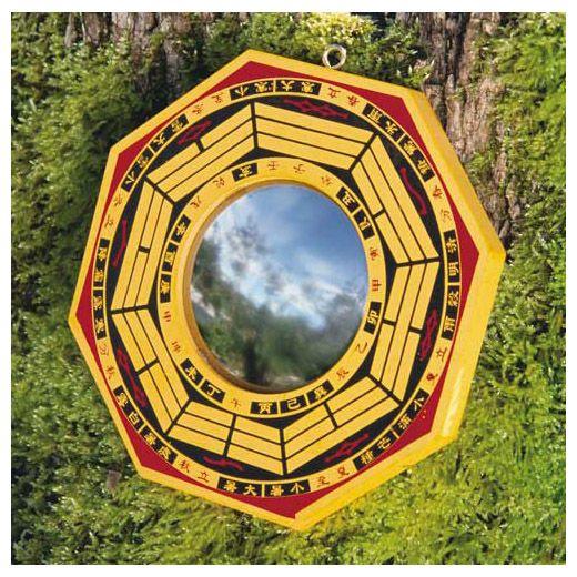 Ba Gua spiegel - convex - (naar buiten gebogen) | Feng shui