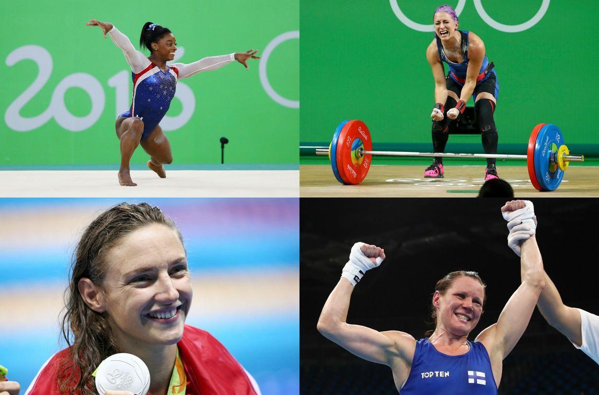 Naisurheilijat loistavat Riossa suorituksillaan, mutta uutisoinnissa äitiydellään, parisuhteillaan ja ulkonäöllään.