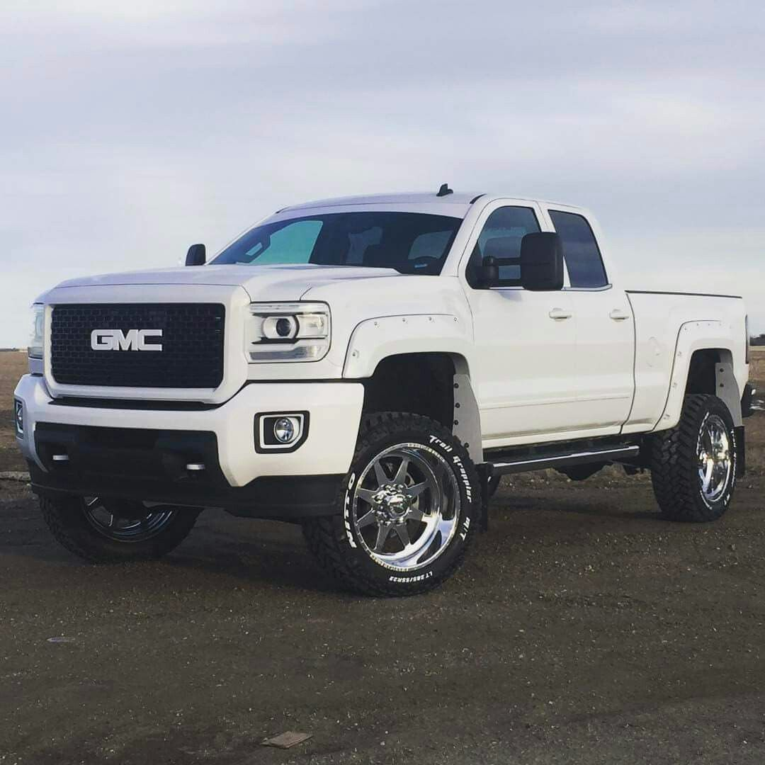 Raised Gmc Sierra >> GMC White letters | Chevrolet Trux / GMC / Hummer Wheelzz | Pinterest | GMC Trucks, Hummer and ...