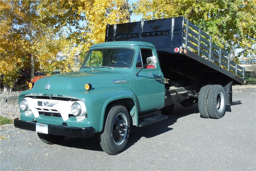 1954 Ford F 600 Dump Truck Barrett Jackson Com With Images