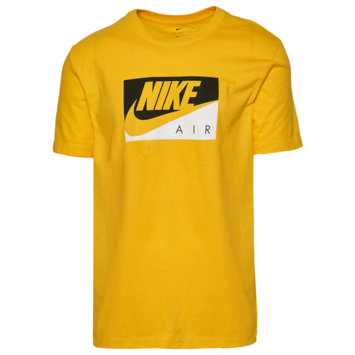 Nike Boxed Air T-Shirt - Amarillo / Black White in 2020 ...