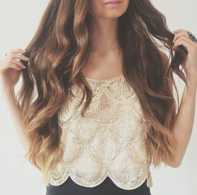 Awesome Thick Long Ash Brown Extensions 100 Remy 24 Clip Ins