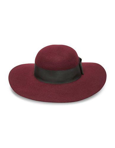 Kate Spade New York Wool Wide Brimmed Floppy Hat Women s Wine  75894144e7b