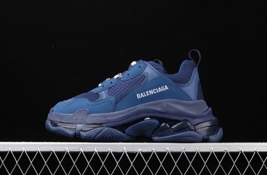 Navy Blue Balenciaga : Balenciaga Footwear | Fila Shoes